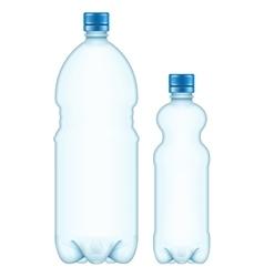 Plastic bottles eps 10 vector