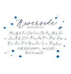 riverside vector image