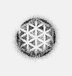 Set of impossible and other tattoo shapes dotwork vector