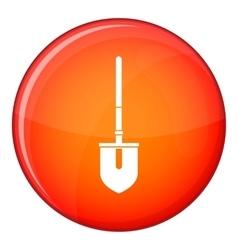 Shovel icon flat style vector