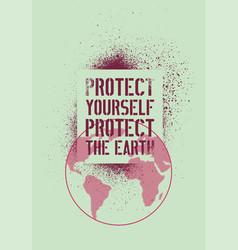 stop hiv typography stencil splash grunge poster vector image