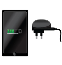 Cell Phone Charging vector image
