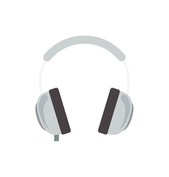 headphone device icon vector image vector image