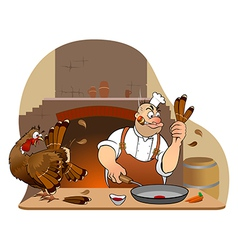 Thanksgiving turkey vector