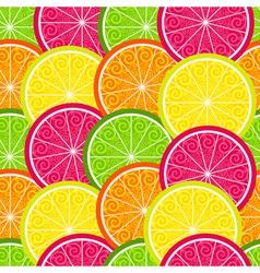 Vivid seamless colorful pattern vector