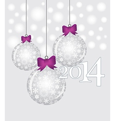 20 14 Decorations vector image vector image