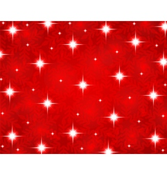 Christmas red shiny background vector image vector image