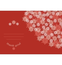 Abstract vintage invitation card with stylized vector image