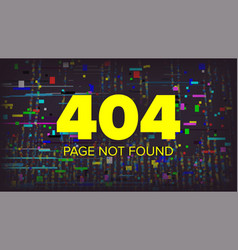 404 error page broken web page graphic vector