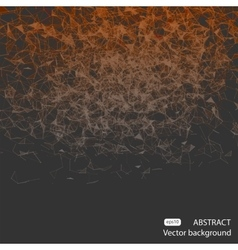 Abstract mesh spheres Futuristic vector image