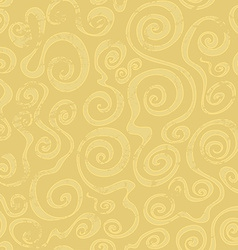 abstract sand spiral seamless pattern vector image