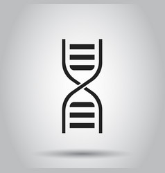 Dna icon on isolated background business concept vector