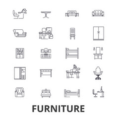 furniture furniture design interior chair vector image