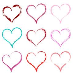 heart 0002 vector image
