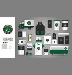Logo concept for coffee shop vector