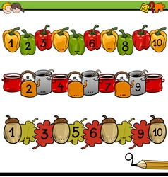Mathematical counting activity vector