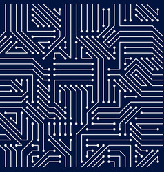 motherboard board seamless pattern background vector image