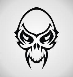 skulls tribal vector image