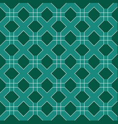 square tile seamless pattern vector image