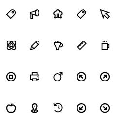 Apple Watch Icons 10 vector