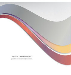 Color wavesabstract background vector