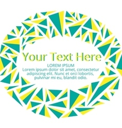 Frame for your text vector