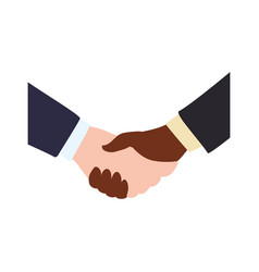handshake deal symbol vector image