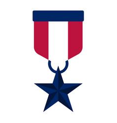 Honor medla icon vector