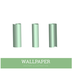 realistic of a paper roll for vector image