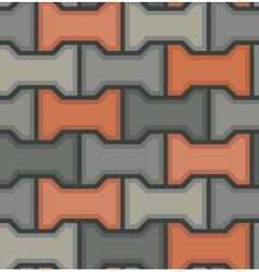 stones floor tile seamless pattern vector image vector image