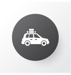 suv icon symbol premium quality isolated pickup vector image