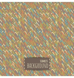 Colorful seamless background with geometric vector image