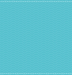 Water Waves Pattern vector image vector image