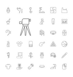 33 sketch icons vector