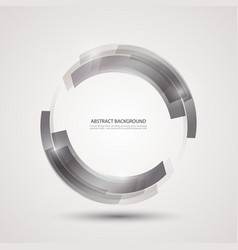 Abstract technology backgroundgray rectangles vector