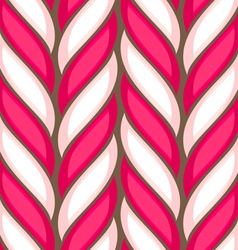 Candy cane spiral pattern vector