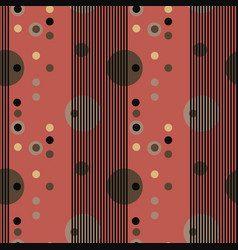 Curtains stranger seamless pattern vector