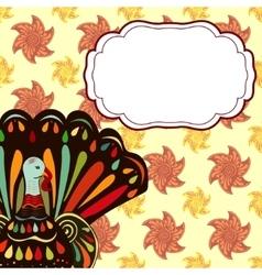Inscription Happy Thanksgiving vector