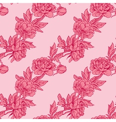 pink flowers 2 380 vector image