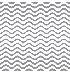 seamless gradient wavy line pattern vector image