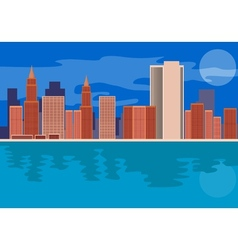 Skycrapers Buildings vector