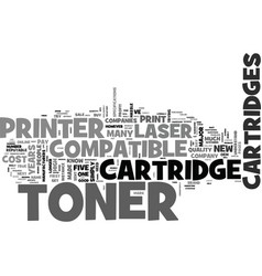 why most people pay double for laser toner vector image