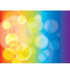 Abstract Rainbow background in EPS-10 vector image