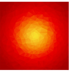 abstract orange red texture vector image