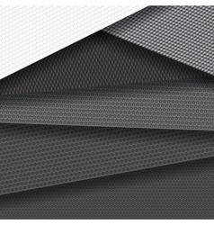 background several carbon fiber patterns vector image
