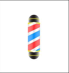 barber shop company logo vector image