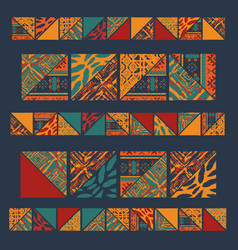 boho seamless wallpaper vector image