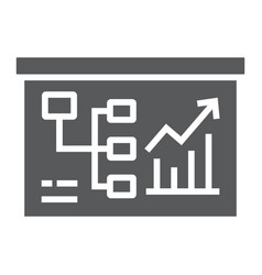 business plan glyph icon business and finance vector image