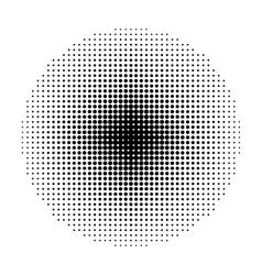 Circle Halftone geometric shapes Dot abstract vector