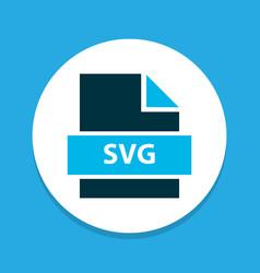 File svg icon colored symbol premium quality vector